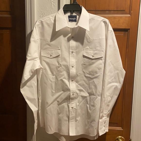 Wrangler Long sleeve Sport Western Snap Shirt